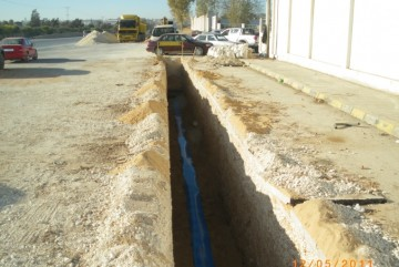 Supply and installation Ductile Iron pipes –Sahab Amman