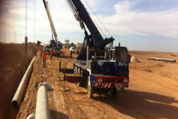 Rehabilitation of water networks in North of AL-Badya /Mafraq