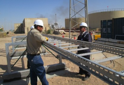 Mechanical and electrical works